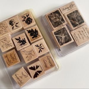 STAMPIN UP Fall Foliage Style Stamp Stamp Sets